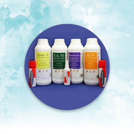 Painkiller staining solution of AE50